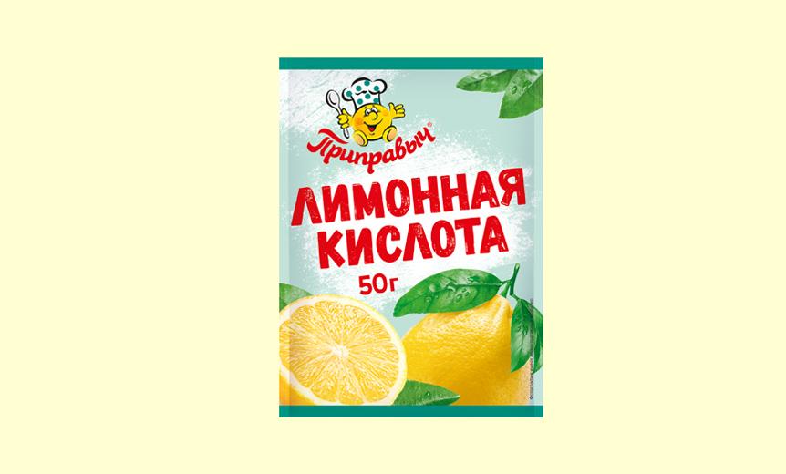 В пакетике слева - лимонная кислота.  В любом кулинарном отделе...
